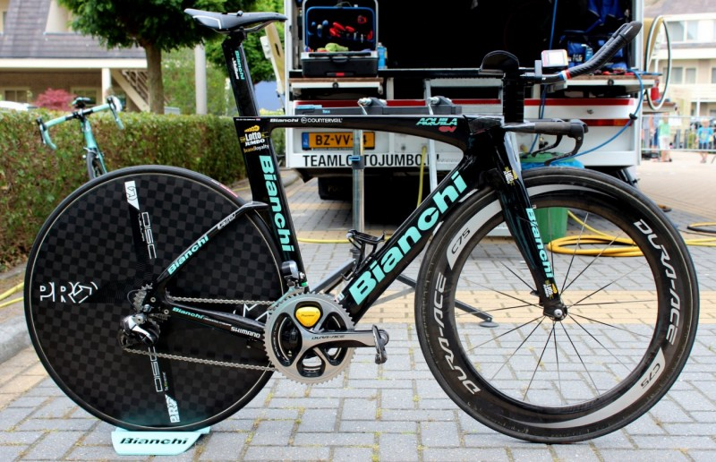 Bianchi Aquila TT / Triathlon Aero Bike - Inspiration Behind the Aria