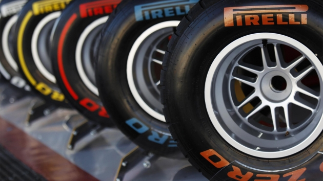 The new road bike tires will take their color coding from Pirelli's current tires -- imagine these, except much thinner