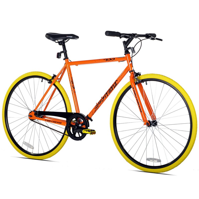 The Takara Sugiyama Flat Bar Fixie Bike