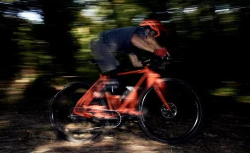 Bokeh blur on a Bokeh bike