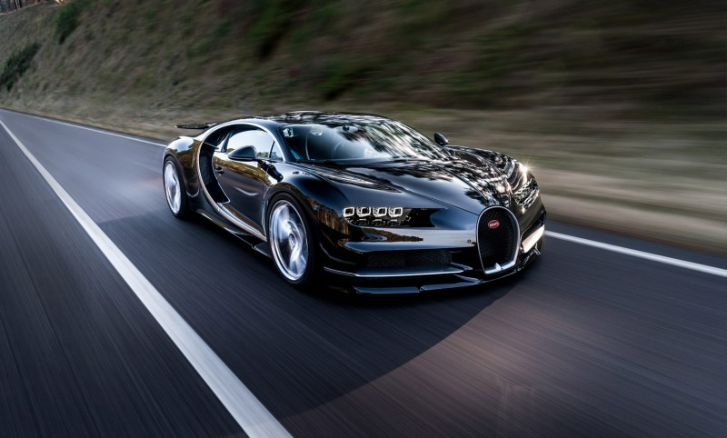 The Chiron Supercar by Bugatti