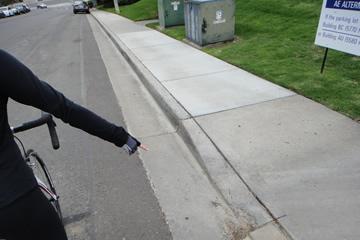 Pothole or Hazard Point